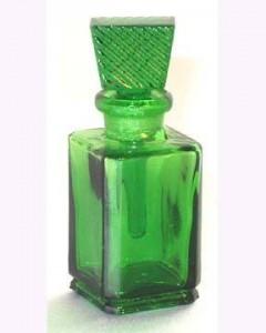 зелена бутилка за пари