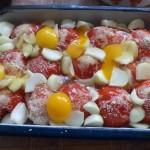 Владимир Луков: Една моя кулинарна измишльотина с домати.