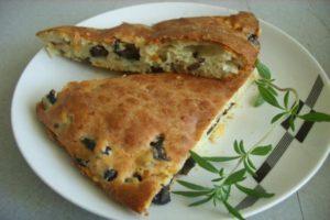 маслинен кейк