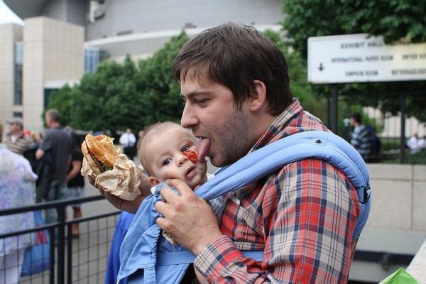 защо да не оставяме детето с таткото