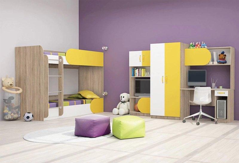 просторна детска стая